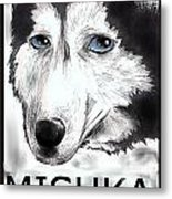 Mishka Fan Poster Metal Print by Warren Lindsey