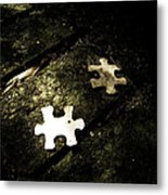 Missing Pieces Metal Print by Jessica Brawley