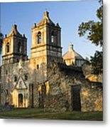 Mission Concepcion In The Evening Metal Print by Ellie Teramoto