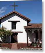 Mission Francisco Solano - Downtown Sonoma California - 5d19295 Metal Print by Wingsdomain Art and Photography