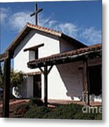 Mission Francisco Solano - Downtown Sonoma California - 5d19300 Metal Print by Wingsdomain Art and Photography