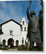 Mission San Juan Bautista Metal Print by Jeff Lowe