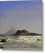 Misty Shadows Metal Print by Cindy Wright