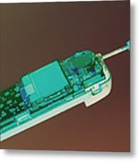 Mobile Telephone Metal Print by Tek Image