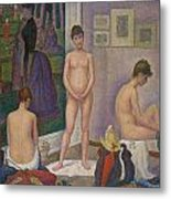 Models Metal Print by Georges Seurat