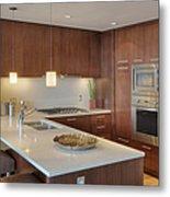 Modern Kitchen Interior Metal Print by Andersen Ross