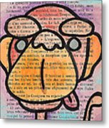 Monkey Business Metal Print by Jera Sky