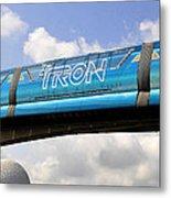 Mono Tron Metal Print by David Lee Thompson