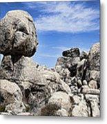 Monolithic Stone Metal Print by Kelley King
