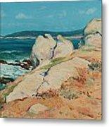 Monterey Coast Metal Print by Guy Rose