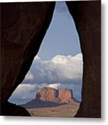 Monument Valley, Usa Metal Print by John Burcham