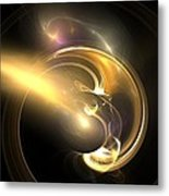 Moon Struck Metal Print by Christy Leigh
