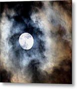 Moonshine Metal Print by Karen M Scovill