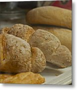 Morning Bread Metal Print by William  Carson Jr