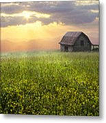 Morning Has Broken Metal Print by Debra and Dave Vanderlaan