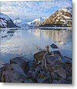 Morning Light At Portage Lake Metal Print by Tim Grams