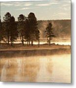 Morning Mists Metal Print by Corinna Stoeffl, Stoeffl Photography
