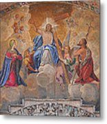 Mosaic In San Marco Square Venice Metal Print by Bill Cannon