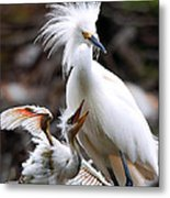 Mother And Child Metal Print by Kenneth Albin