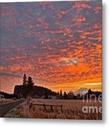 Mount Rainier Dawn Metal Print by Sean Griffin