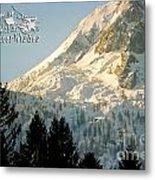 Mountain Christmas 2 Austria Europe Metal Print by Sabine Jacobs