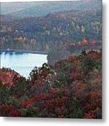 Mountain Lake Metal Print by Michael Waters