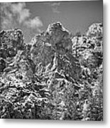 Mountain Peaks Metal Print by Lisa  Spencer