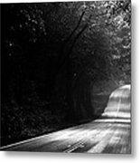 Mountain Road II Metal Print by Matt Hanson