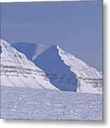 Mountains Above Kings Glacier Metal Print by Gordon Wiltsie
