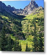 Mountains In North Cascades National Park Metal Print by Pierre Leclerc Photography