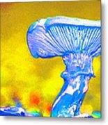 Mushroom Whimsy  Metal Print by Marie Jamieson