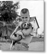 My Dog Metal Print by Ecell