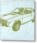 My Favorite Car 2 Metal Print by Naxart Studio