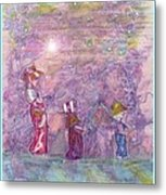 Mystical Stroll Metal Print by Ray Tapajna