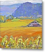 Napa Valley Mountains Metal Print by Barbara Anna Knauf