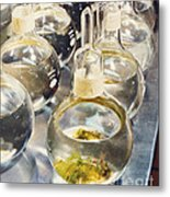 Nasa Experiment Metal Print by Science Source