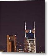 Nashville Cityscape 6 Metal Print by Douglas Barnett
