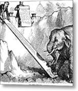 Nast: Third Term, 1875 Metal Print by Granger