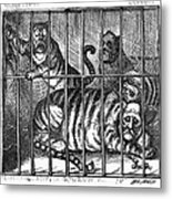 Nast: Tweed Cartoon, 1871 Metal Print by Granger