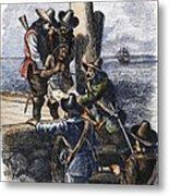 Native American Slave Metal Print by Granger