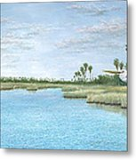 Nature Coast Metal Print by Kevin Brant