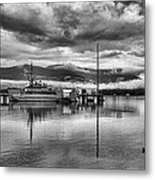 Navy Lookout Metal Print by Douglas Barnard