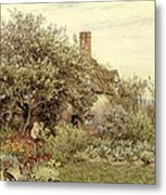 Near Hambledon Metal Print by Helen Allingham