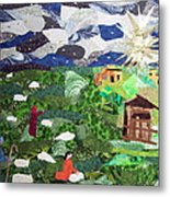 'neath The Brightest Star Metal Print by Charlene White