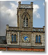 Neo-gothic Weimarer City Hall Metal Print by Christine Till