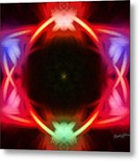 Neon Design Metal Print by Anthony Caruso