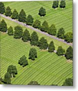 Netherlands, Margraten World War II Cemetery Metal Print by Frans Lemmens