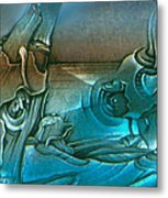 New Earth1 1992 Metal Print by Glenn Bautista