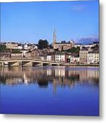 New Ross, Co Wexford, Ireland Metal Print by The Irish Image Collection