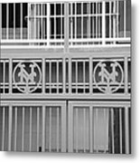 New York Mets Jail Metal Print by Rob Hans